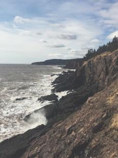 Quaco Head - UNESCO Fundy Biosphere Reserve, New Brunswick