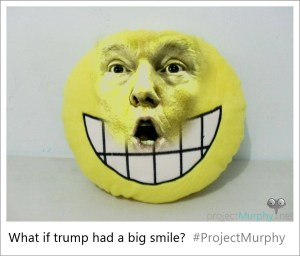 What If Trump Had a Big Smile?