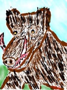 Wild Boars Really Vampire Pigs?