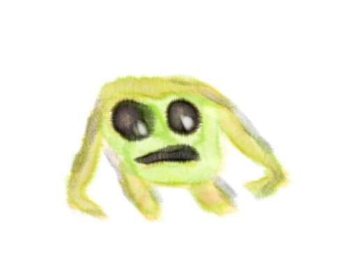 Backwards frog eyes