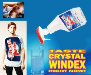 Taste Crystal Windex RIGHT NOW!