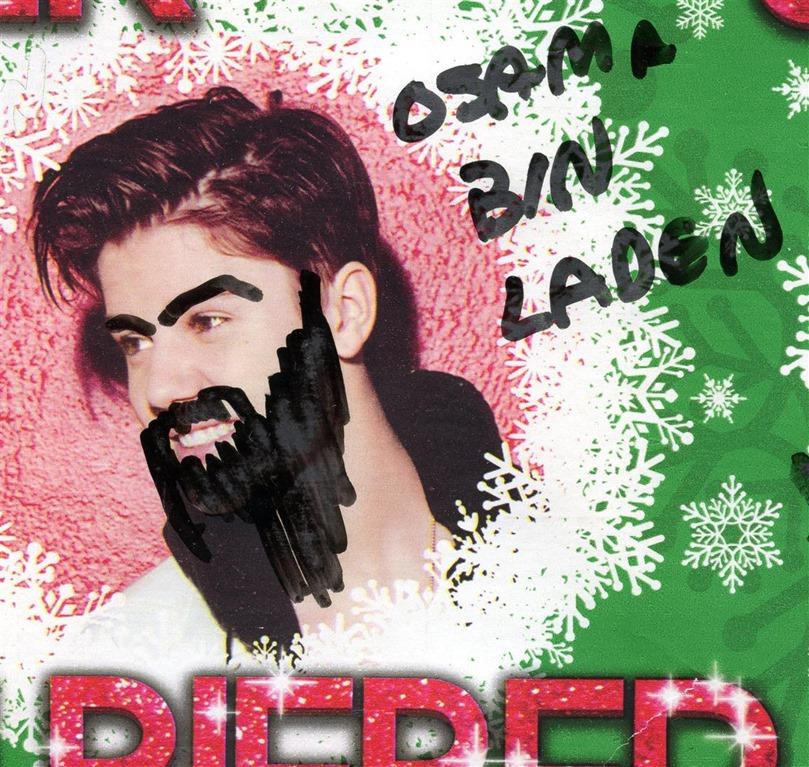 Justin Bieber As Osama Bin Laden