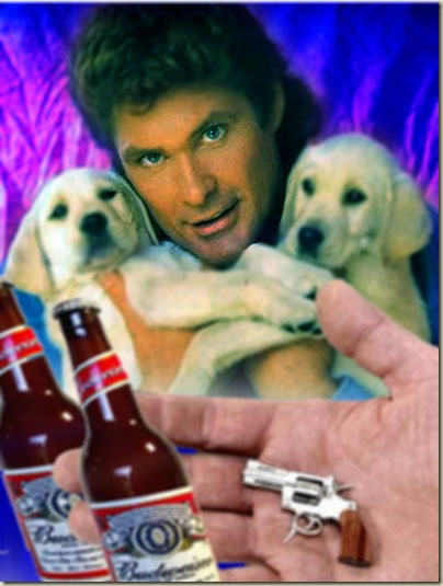 Hasslehoff Arrested Puppy Hostages Freed