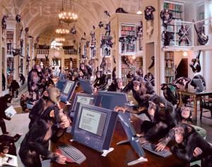 Creepy Sightings – The Simian Swarm