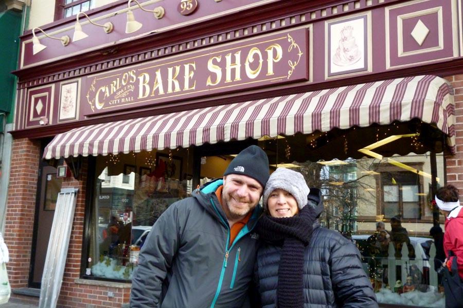Nossa visita à Carlo's Bakery, em Hoboken, NY