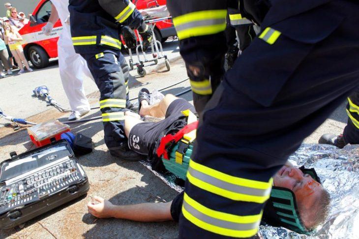 Fire Department Patient Response On Scene