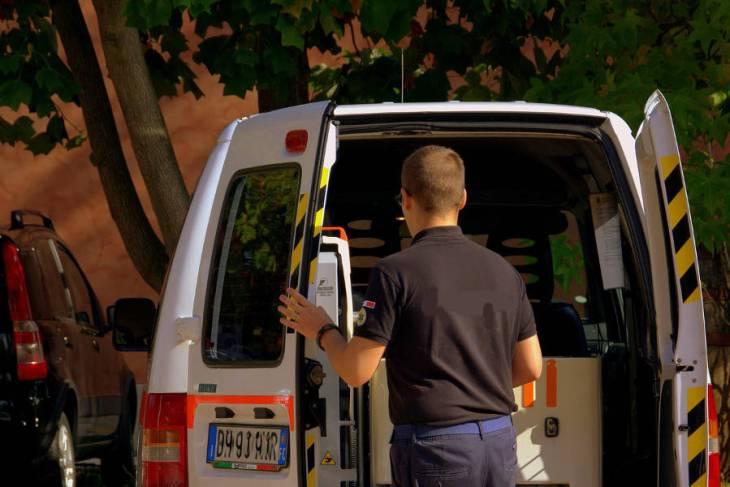 Oregon EMT Training Ambulance