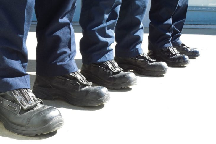 Haix EMS Boots on Fire Fighters