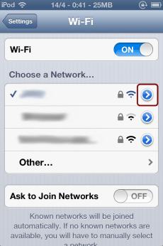 Wifi Options
