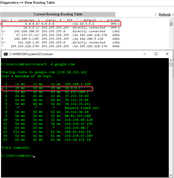 Setting up a VPN Tunnel on Draytek - NordVPN - emtunc's Blog
