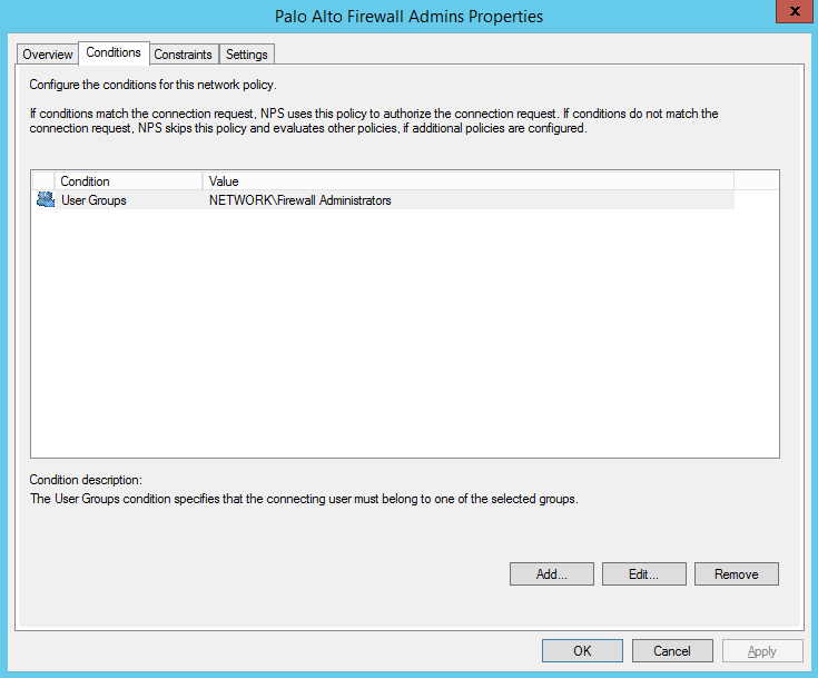 Palo Alto RADIUS Authentication with Windows NPS - emtunc's Blog