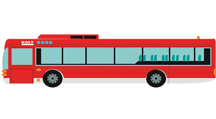 Bus EMT Valencia