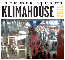 Emu Architects' product reports from Klimahouse 2011