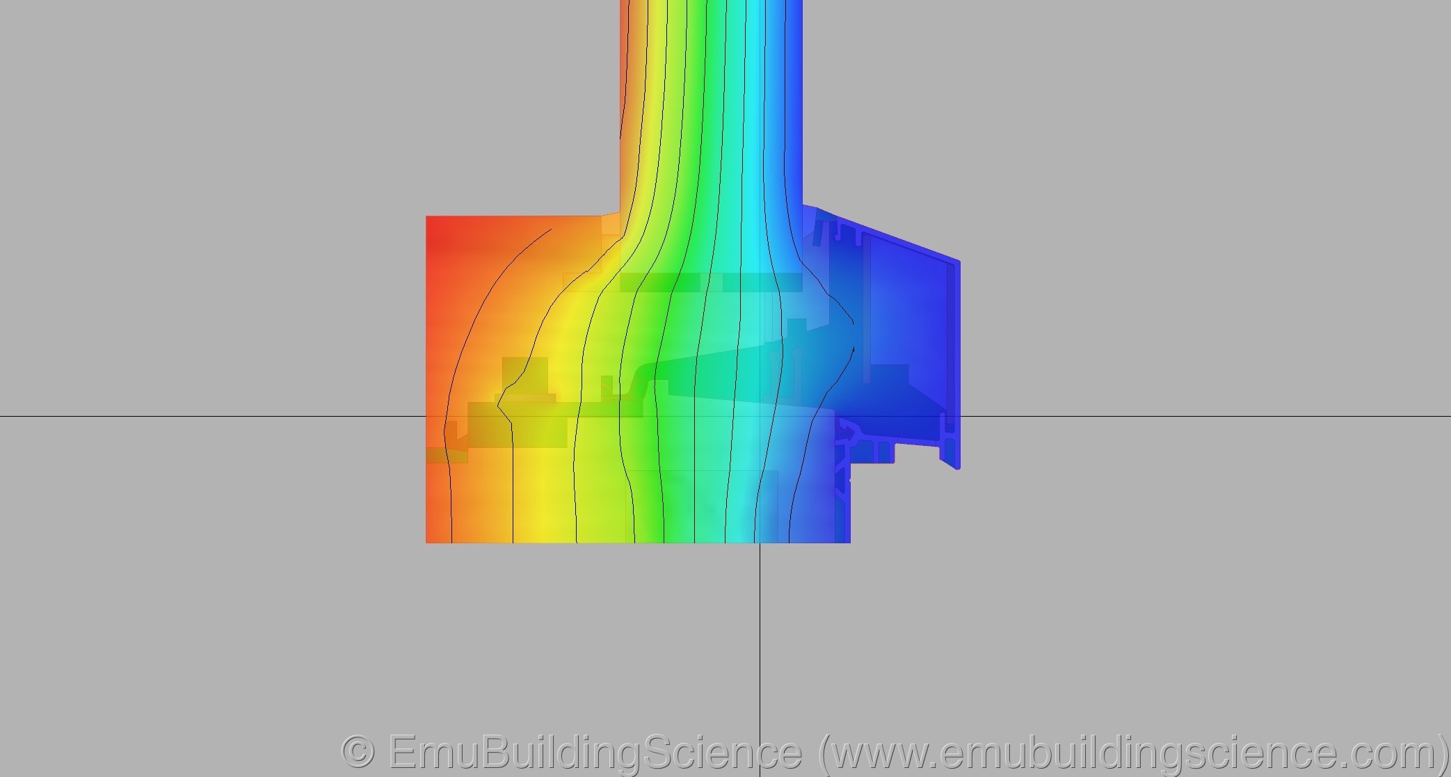 Emu - window sill isotherms