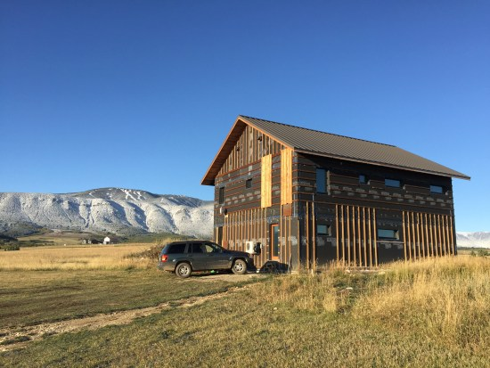 Outside view of Beartooth Passive House