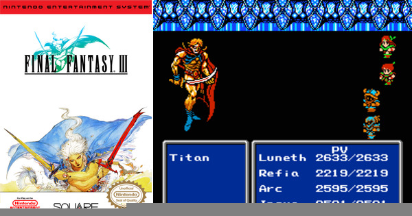 Play Final Fantasy 3 English On NES
