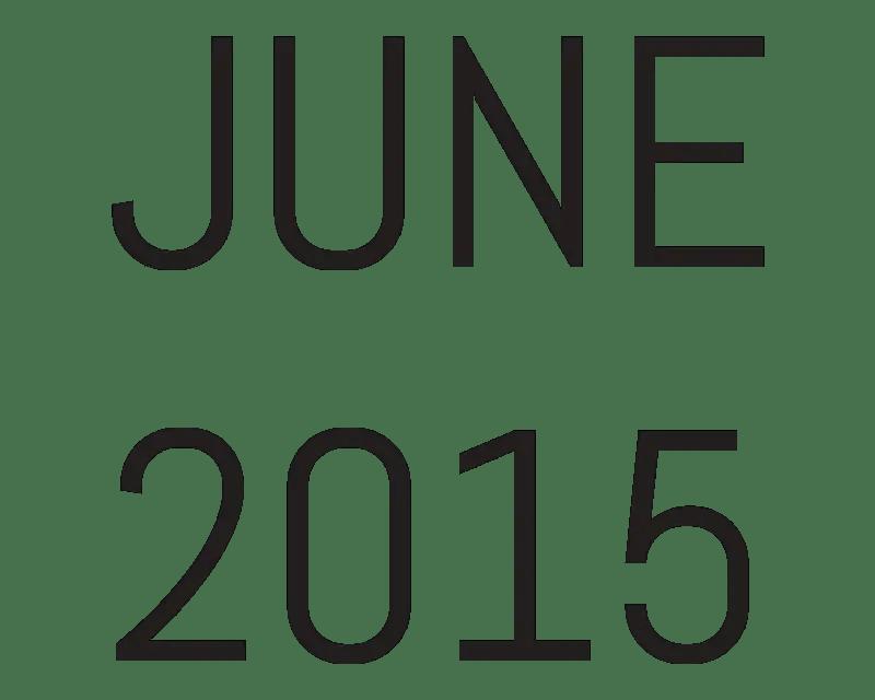 Archive: June 2015