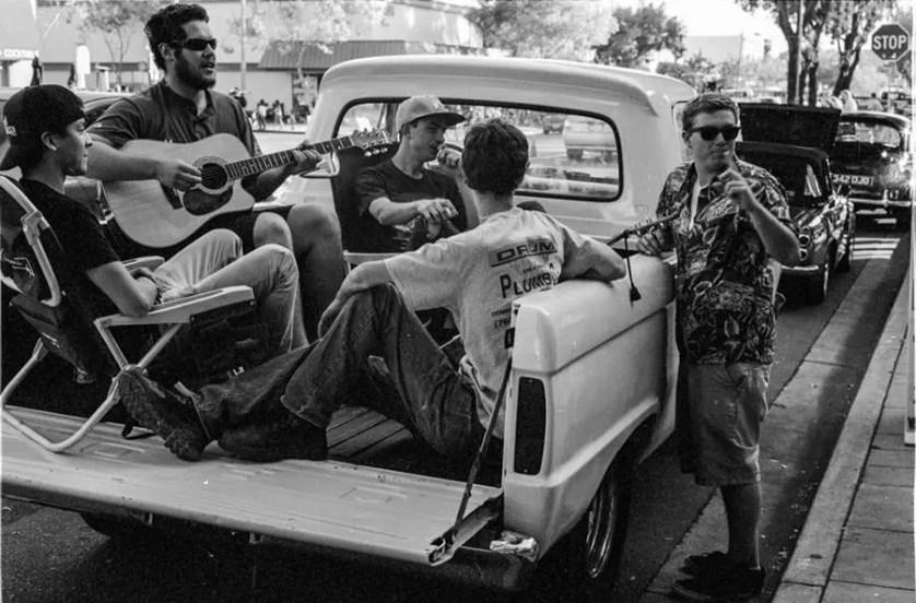 Pick-up jam - Cruising Grand, Escondido, California.