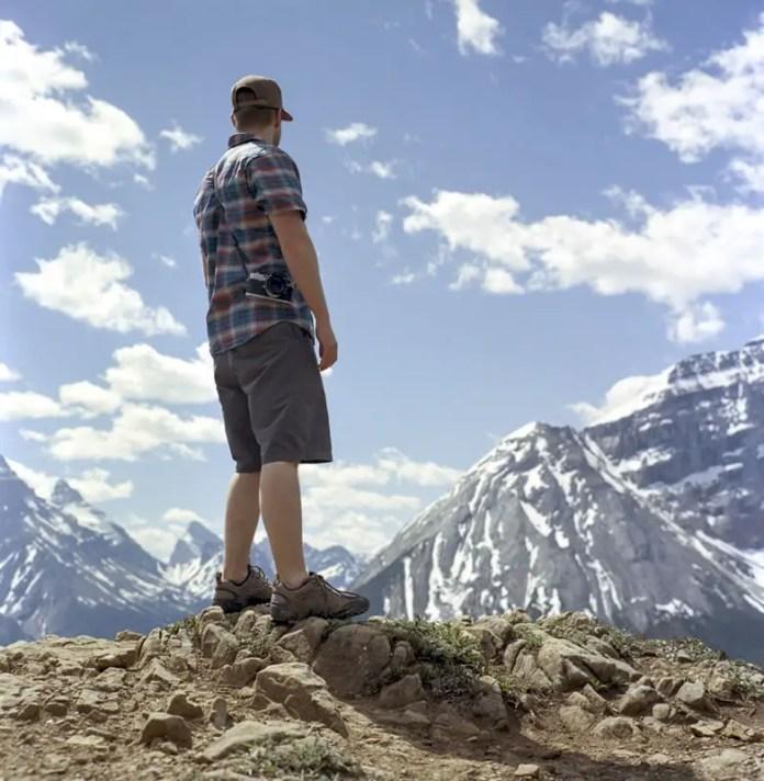 """Outlook"", Paget Peak Yoho National Park, British Columbia - Rolleiflex 3.5F   Kodak Ektar 100"