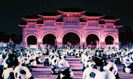 Panda party! – Lomochrome Purple XR100-400 (120)