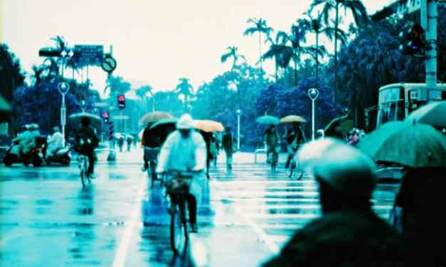 Rainy days, rainy haze – Shot on Lomography Lomochrome Purple XR 100-400 at EI 400 (35mm format)