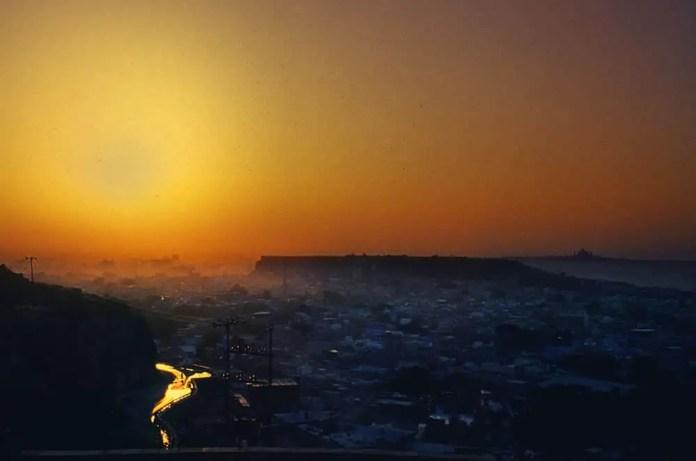 Sunrise - Kodak Ektachrome E100VS