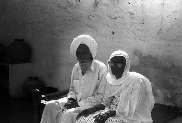 A sikh couple - Kodak Academy 200