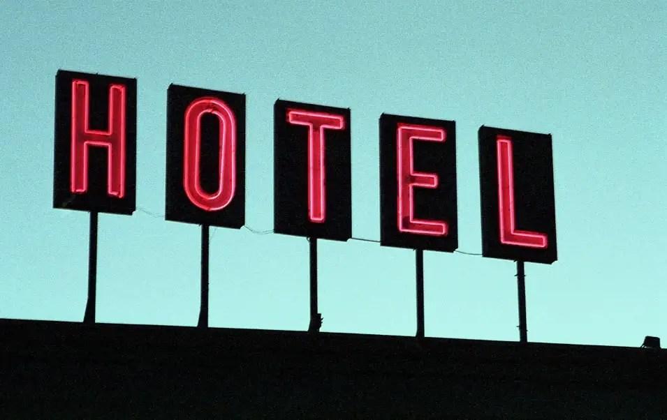 Hotel - Denver. Minolta XE-7, Kodak Portra 800