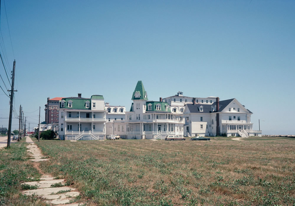 Cape May, New Jersey 1980. Kodachrome.