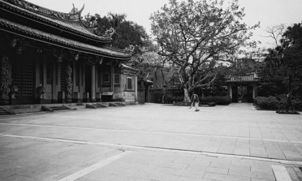 Temple cleaning – Shot on ILFORD FP4 PLUS shot at EI 100 (35mm format)