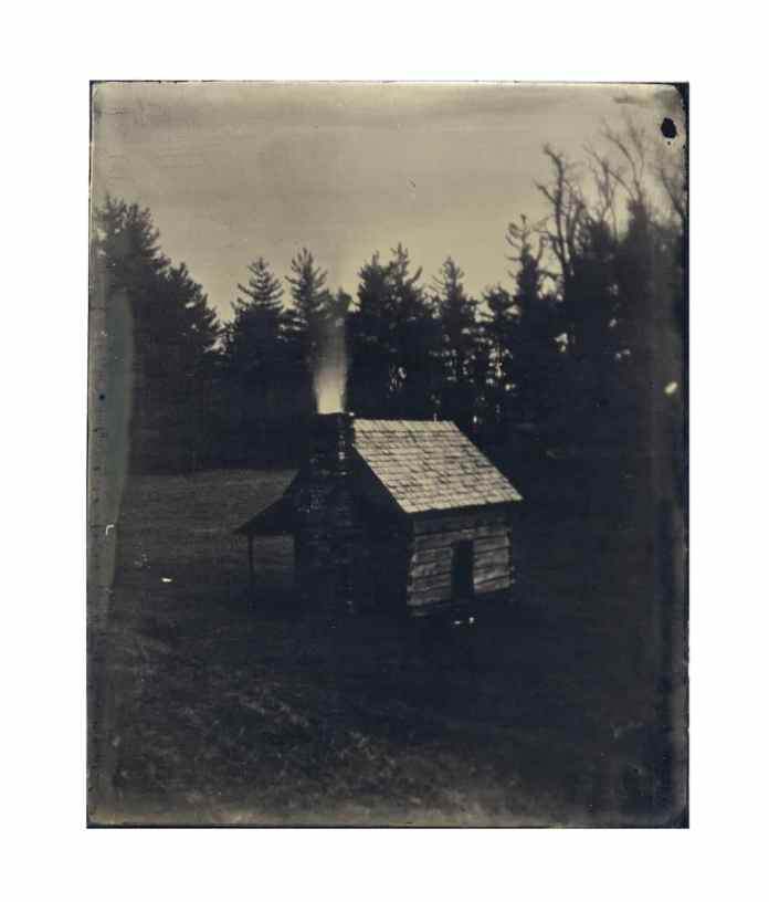 """Untitled"" from NEVERMORE (2014) // Tintype // 4""x5"""