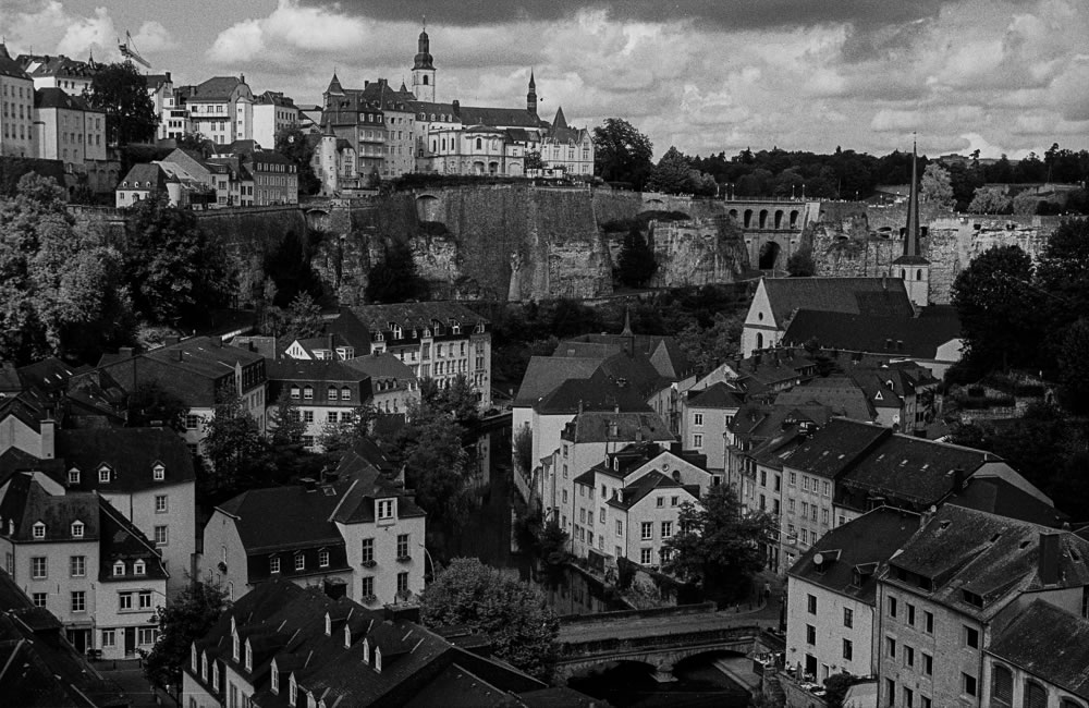 Old town, Luxembourg