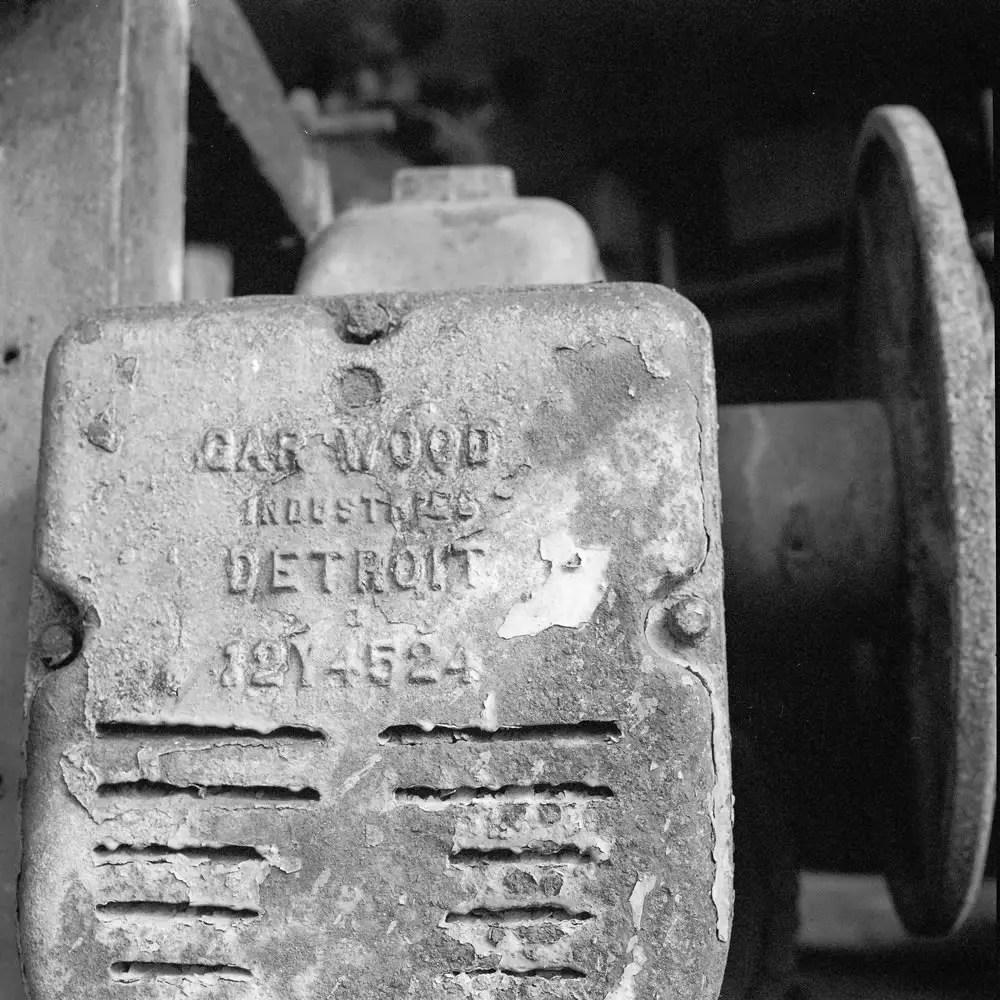 Kodak Portra 400BW - EI 100