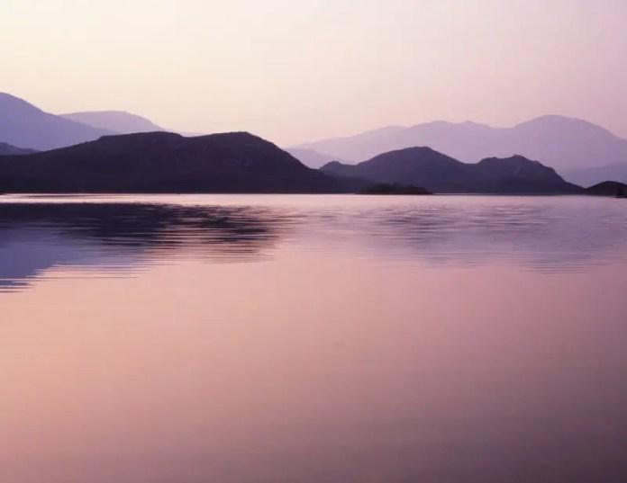 Scourie dawn -Mamiya C330S, Kodak Ektachrome 100SW