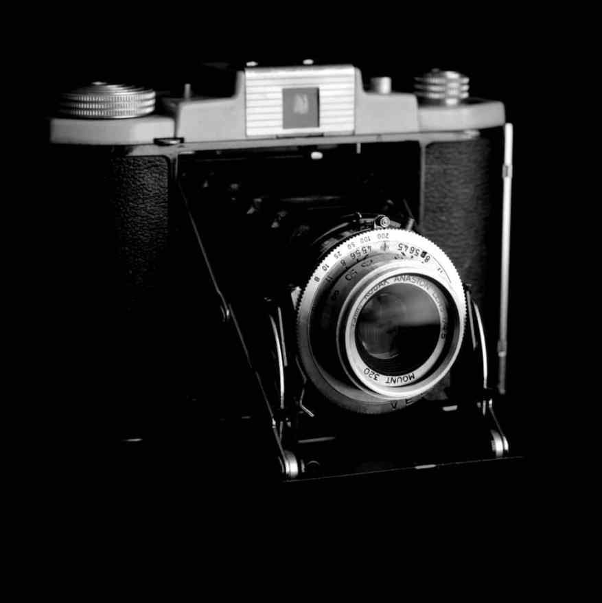 Kodak 66 in studio with Bronica SQAi on Ilford HP5+