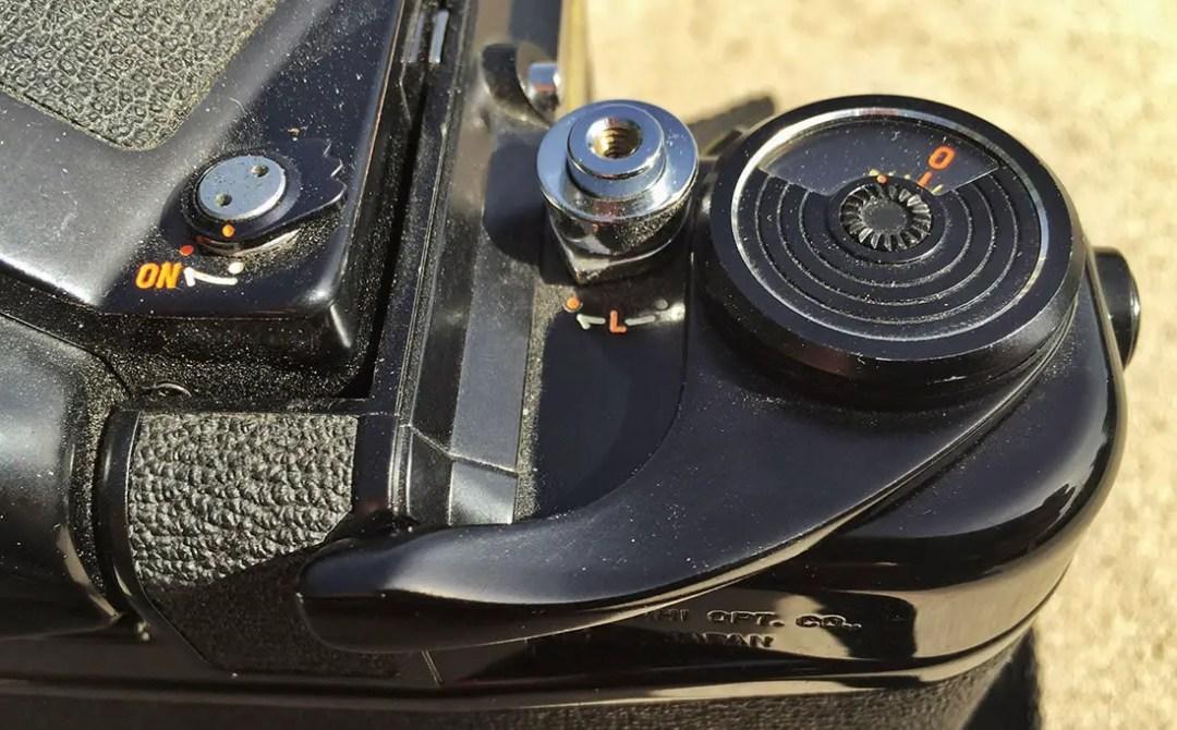 Pentax 6x7 film advance