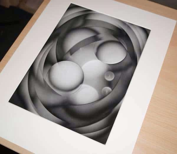 Michael Jackson - Luminogram