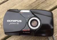 Olympus µ[mjuː]-II - Front
