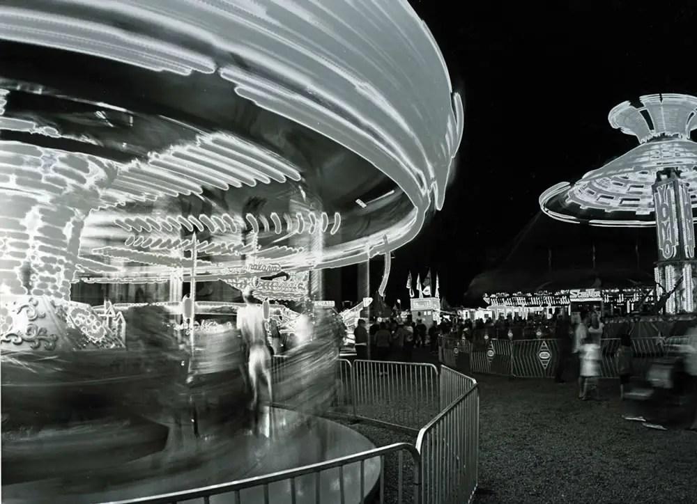 County fair - Sabattier print