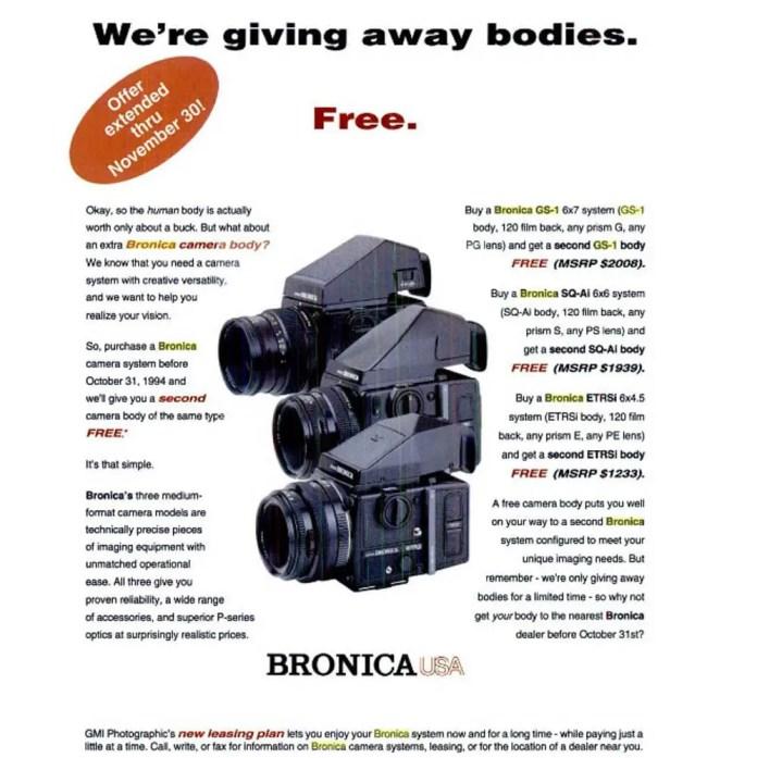 Bronica GS-1 - Free Bronnys