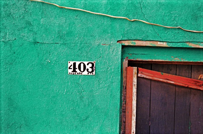 Doorway, Jiminez - Agfa Optima (2001)