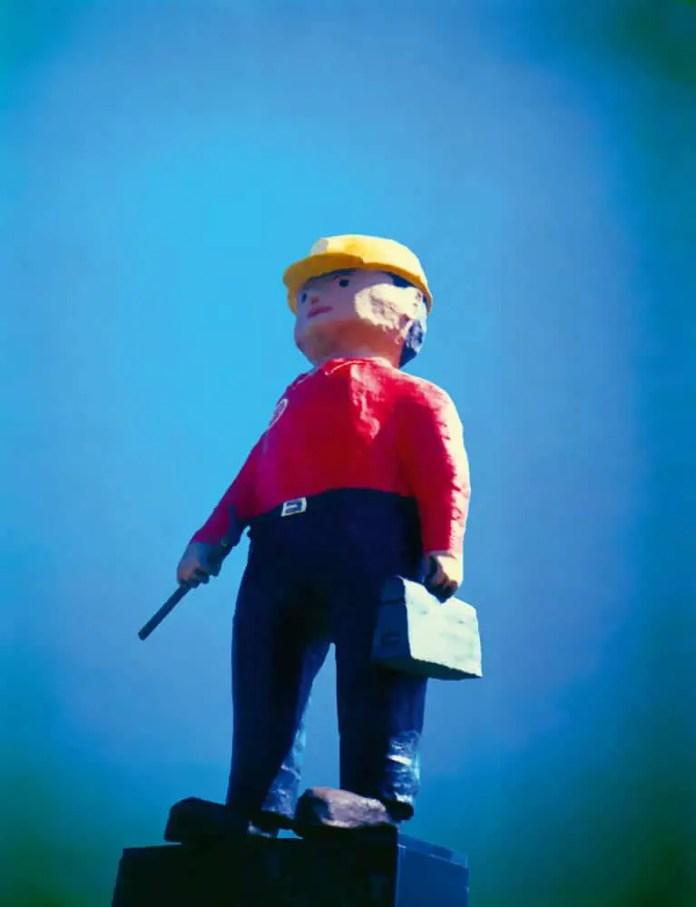 Potash Pete, Saskatchewan - Polaroid 669 (2009)
