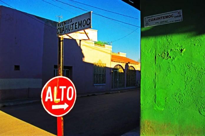Street Corner, Villa Union - Agfa Ultra (2000)