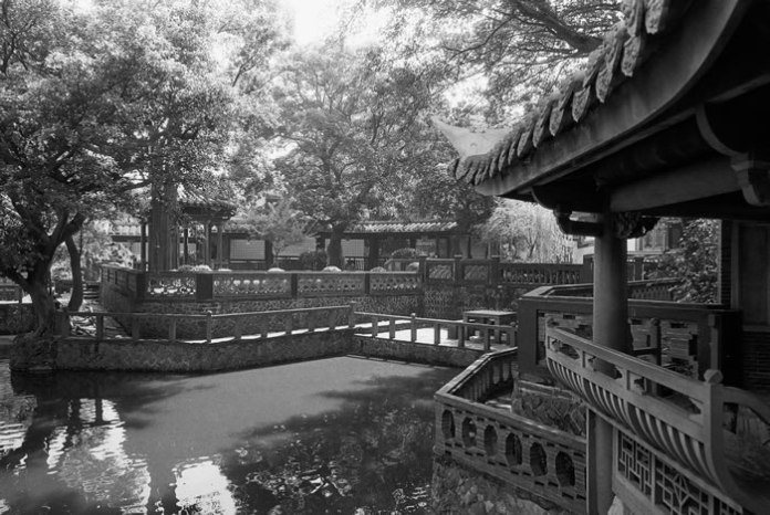 Tranquillity - Ilford HP5+ shot at EI 400. Black and white negative film in 35mm format.
