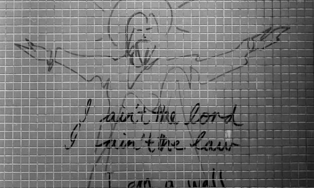 I am a wall – Kodak BW400CN (120)