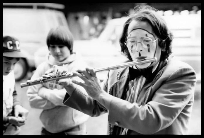 "Kodak Tri-X 35mm, Miranda DR, 50mm lens, from ""A Little Street Music"""