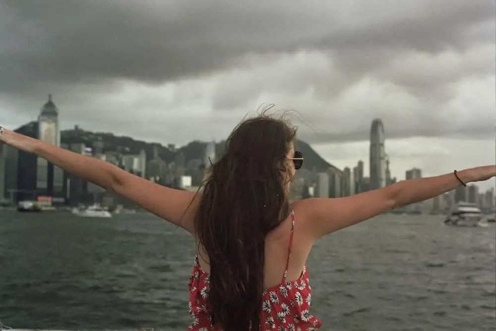 2014 Hong Kong - Olympus OM-1: 28mm f/4, Fuji Superia 400