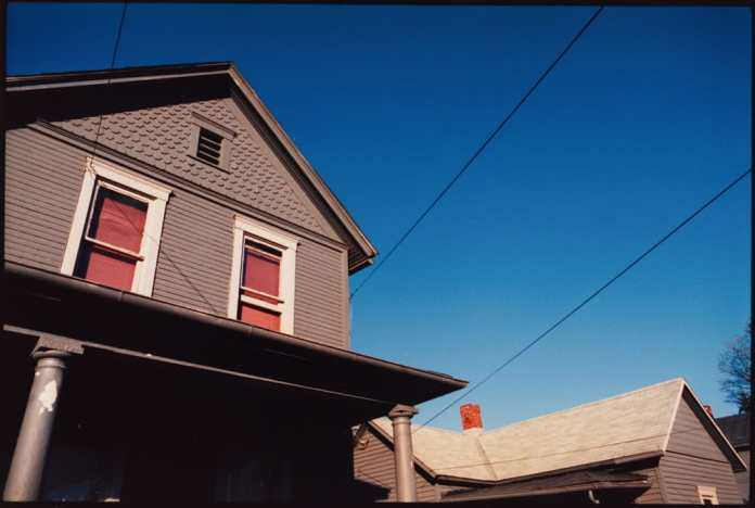35mm Kodak Ektar 25. 11x14 C -print. Athens, Ohio 1989 I also worked some slow color into my thesis piece.
