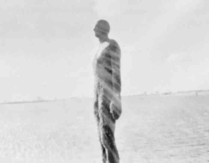 The Man Who Fell To Earth - 5x4 pinhole camera, medical x-ray film