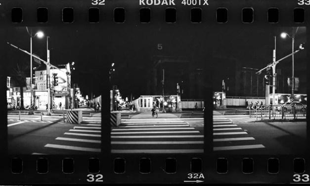 Safe to cross – Shot on Kodak Tri-X 400 at EI 400 (35mm)